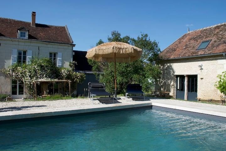 A proximité de Chenonceaux et du Zoo de Beauval