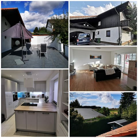 House near Landshut. 170 m2 for up to 6 guests.