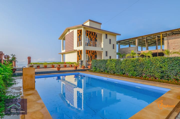 Shree Samarth Vila -Valley View with Swimming Pool