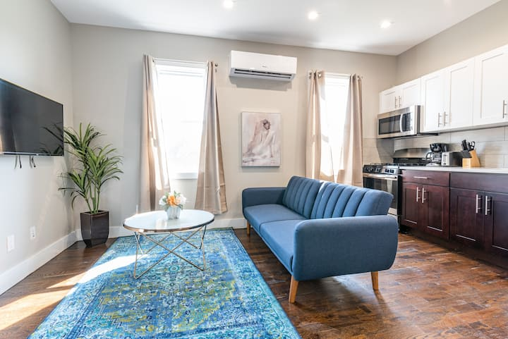 Two Bed One Bath Journal Square | 20 Min Manhattan