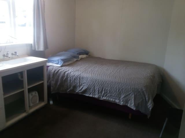A Budget / No frills / Double room close to city.