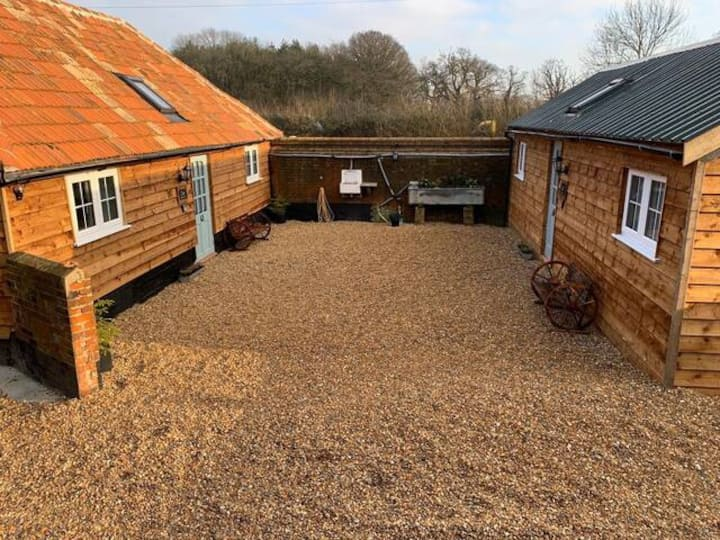 The Stable Yard at Iron Pear Tree Farm