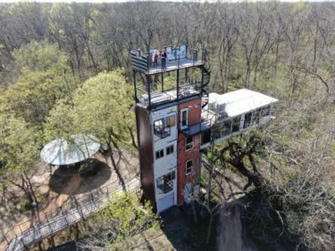 """""""Air Castle"""" by Highpoint Treehouses"""