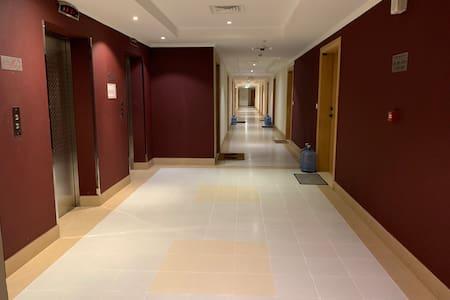 Wide & Bright corridor