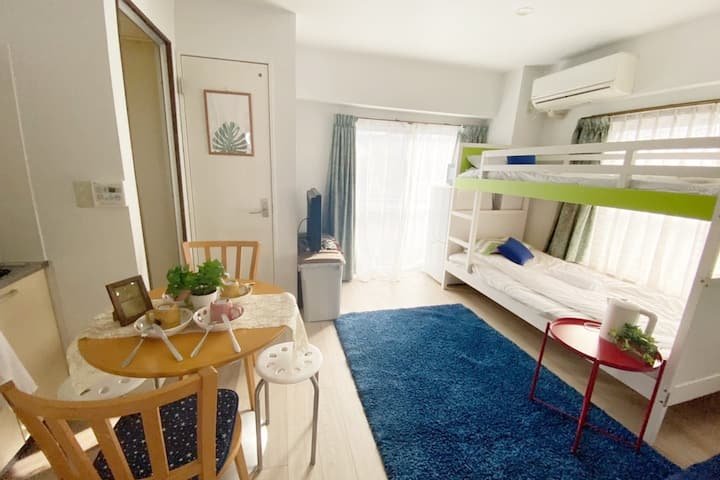 Near station 6 min/Free wifi/Max 4 guests#3103