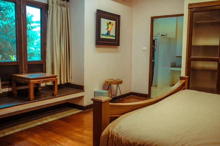 [一梦浮生] Dreamland Villa ใกล้คูเมือง- ห้องคิง 1