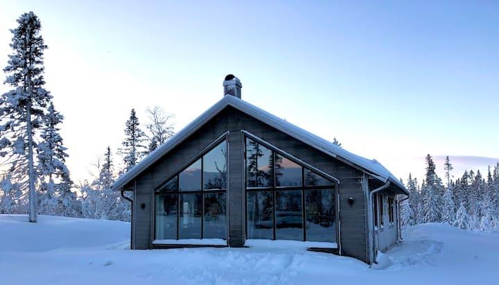 Ny fjällstuga med ski-in-ski-out i Bydalen, Åre