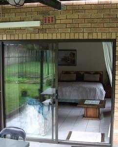 Double Door Entrance.