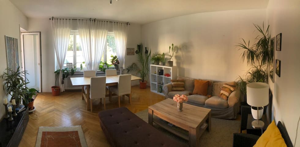 Helles Zimmer in gemütlicher Wohnung Bogenhausen