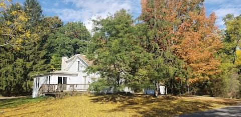 Experience Country Living Near Ithaca, NY.