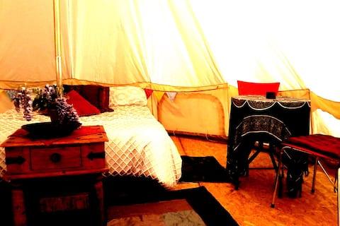 Glamping-Zelt ~ Camp mit einem Unterschied