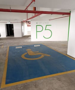 Estacionamiento para personas con discapacidad