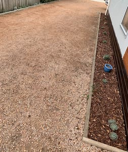 Flat level ground throughout entire property