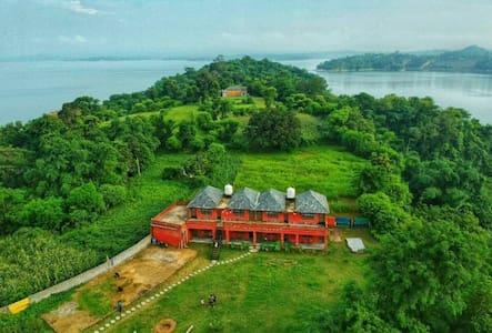 The Pong Eco Village, Pong Dam,Kangra, H.P India
