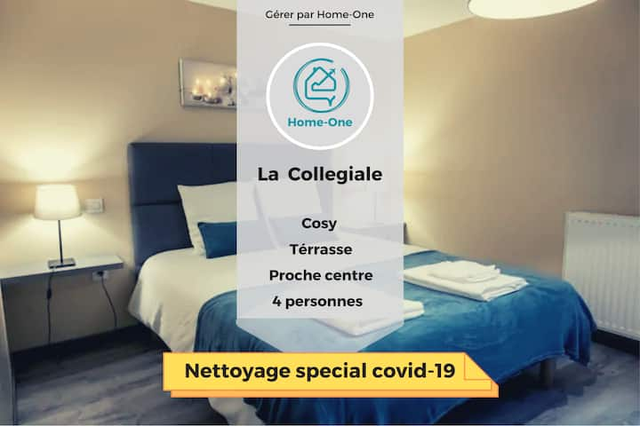 COLLEGIALE ★ PROCHE CENTRE VILLE ★ Home-One