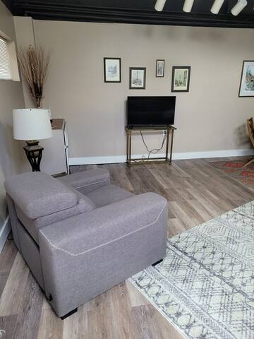 Updated furniture 4/2021 - Electric recliner - Smart TV.