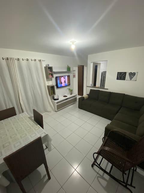 Apartamento no Araçagy ao lado da praia