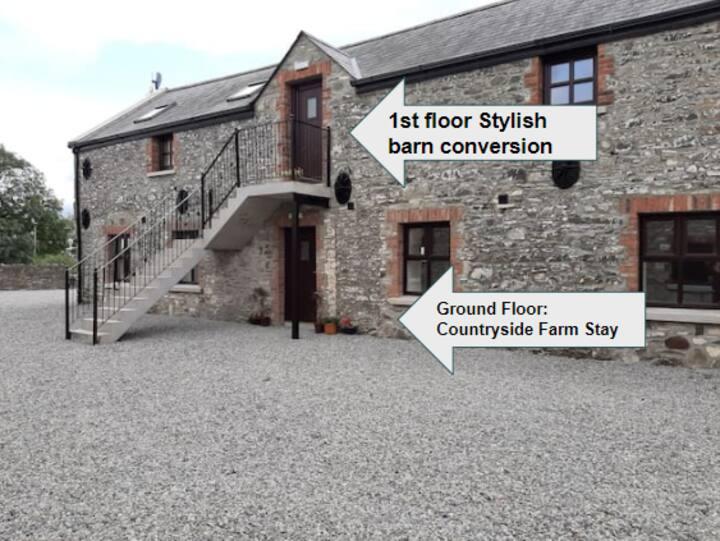 Stylish Barn Conversion on Working Farm