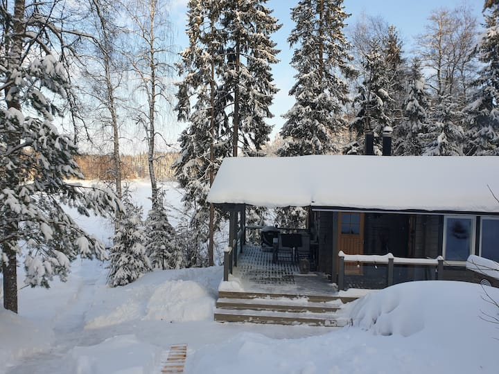 Unique Sauna Cottage in the Finnish Wilderness