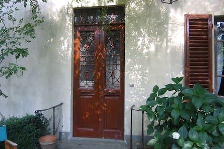Ampio ingresso alla casa