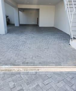 Door at end of parking