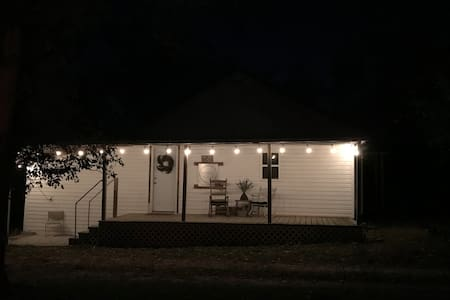 Porch light / outdoor lights around the front porch well lit entrance