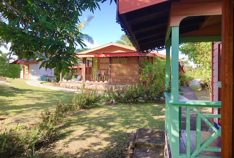 Typical Caribbean House 2 bedrooms ALE