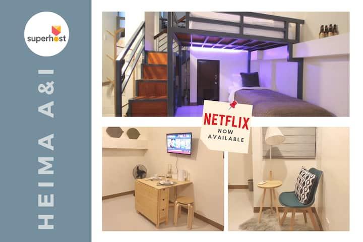 OPEN! Heima A&I | 30mbps | Netflix | SmartTV