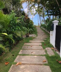 Патека до надворешниот влез без скали