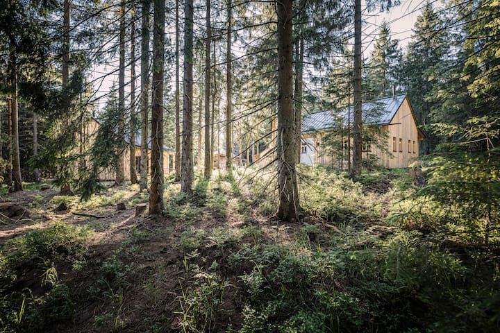"""RAMENAI Das Böhmerwaldlerdorf """"Waldbauernhütte"""""""