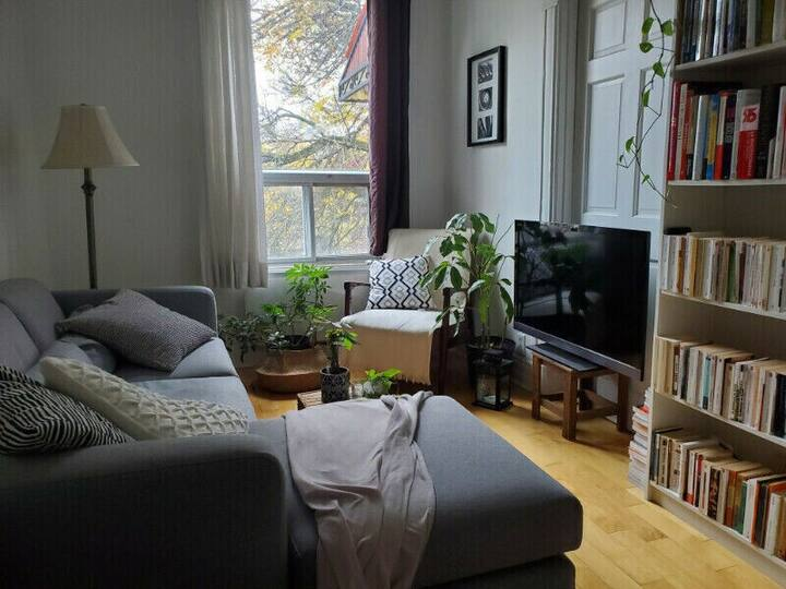 Sunny & stylish apartment in the heart of Rosemont