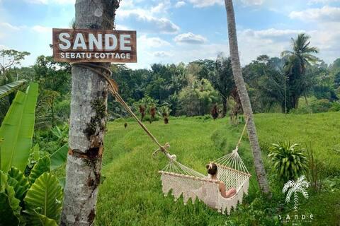 PROMO Paradise SANDE SebatuCottage Ubud, Bali