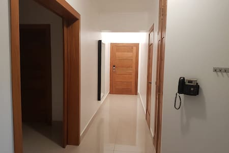 Hallway access to bed room, living room, kitchen no steps