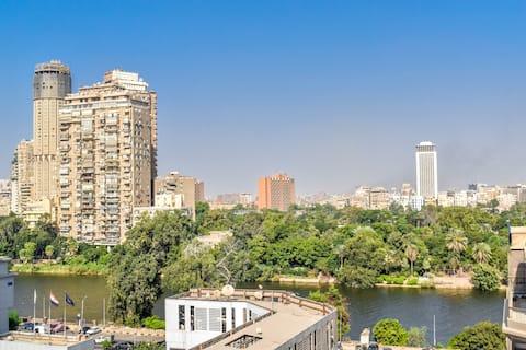 Κατοικία EZ - Διαμέρισμα στην ταράτσα Πλευρική άποψη Νείλου