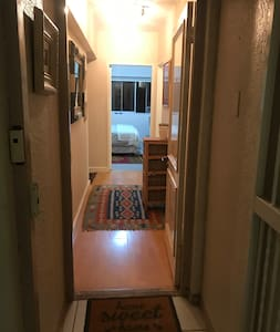 No stairs to entrance or inside apartment