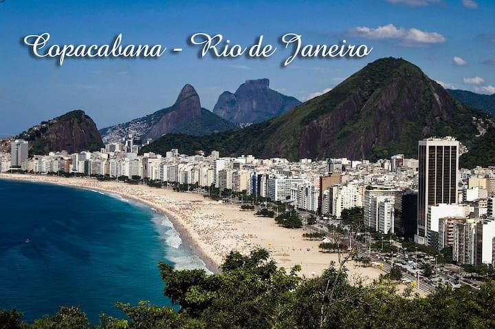 Loft em Copacabana, 2 min para praia.