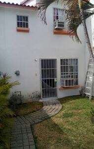 acceso a la casa