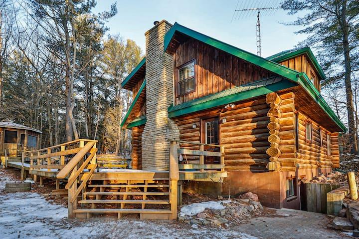 Buckhorn Log Home