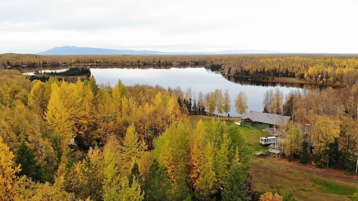 Alaska's Heritage Lodge * Lakefront *  Activities*