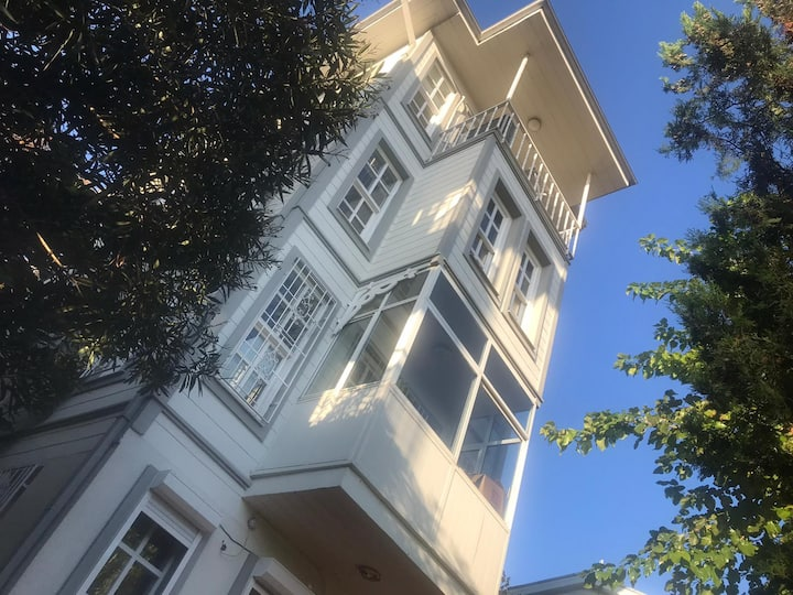 House in Bebek with sea view and private garden...