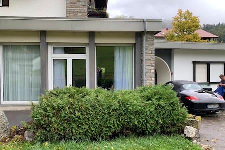 Ebenerdiger, barrierefreier Zugang zum Apartment
