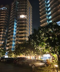 At night, the whole area and vicinity are well lighted and very safe for evening jog or walk. The property is Equipped with street lamps, pathway lamps and uplight positioned to light up the trees and its sorroundings.