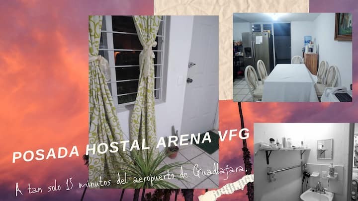 Hostal Aeropuerto  Estancia Mensual con Descuento
