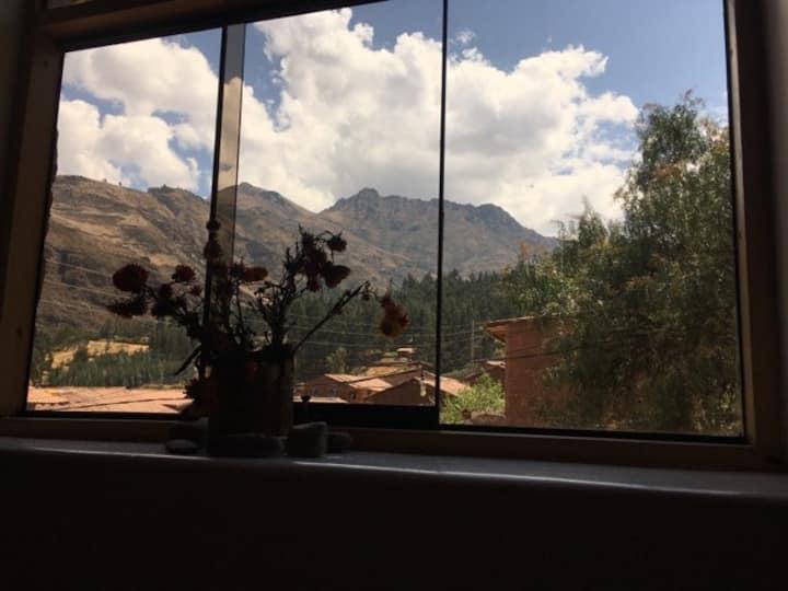 La Chakana Pisac Rm#7 - Matrimonial, mountain view