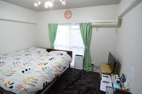 ★ 205号★家具家電付き1Rアパートメントタイプ