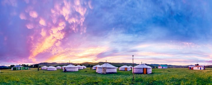 ORKHON CAMP IN MONGOLIA