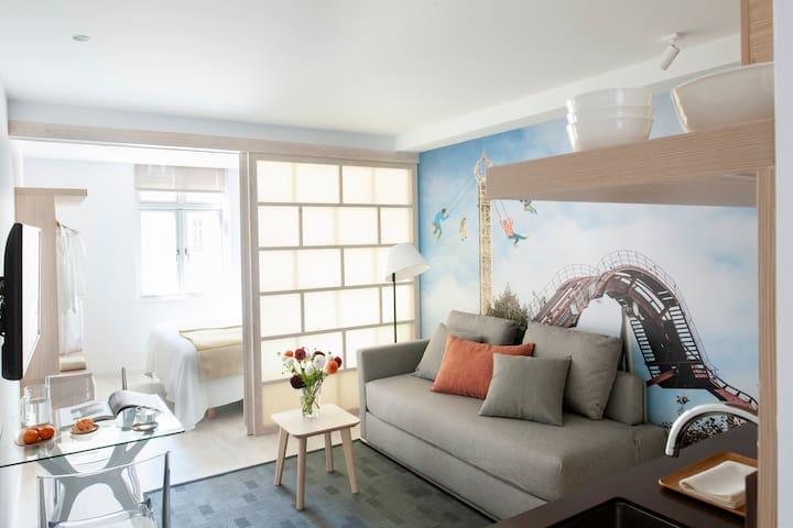 Central Located Minimalist Designed Apartment