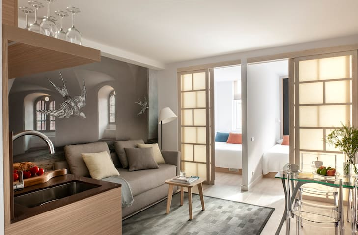 Bright Nordic Designed Apartment - City Center