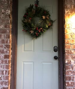 Front door. Combo code sent separately.
