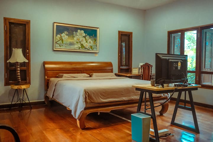 [一梦浮生] Dreamland Villa ใกล้คูเมือง - ห้องคิง 2
